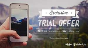 Free sim and 100mb of data @ Lonely Planet