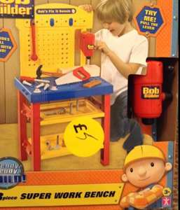Bob the builder super work bench £5 @tesco instore