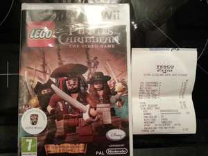 Lego pirates of the carribean fir Wii £1.25 at Tesco