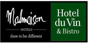 Malmaison/Hotel Du Vin £50 gift card for £27