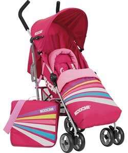 Buy Koochi Ipso Strobe Pink Pushchair £54.99 at Argos.co.uk - Your Online Shop for Pushchairs, Travel, All Baby and Nursery clearance, Limited stock Nursery.