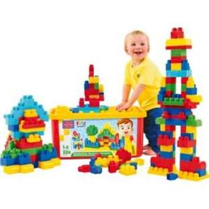 Mega Bloks First Builders Big Building Bloks 220 Piece Tub (classic & pink version) at ARGOS for 19.99