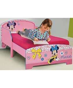 Minnie Mouse toddler bed @ Argos - £64.99