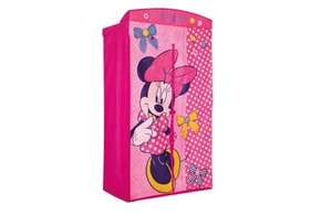 Disney Minnie Mouse Fabric Wardrobe £9.99 with free next day delivery @ Argos (Was £44.99)