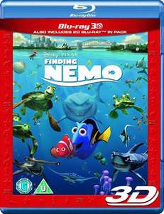 Finding Nemo 3D Bluray @Tesco Instore £3.75