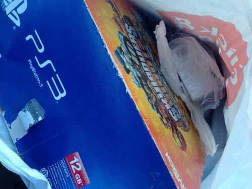 Playstation 3 12gb skylanders bundle £24 at tesco