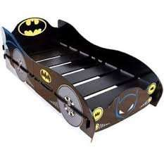 BATMAN THE DARK KNIGHT BATCAVE BATMOBILE CAR SHAPED CHILDRENS SINGLE BED FRAME @ pink_and _blue _gifts1 .Ebay uk. - £99.99