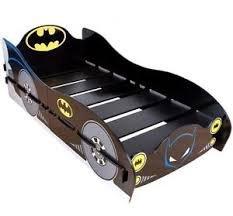 BATMAN THE DARK KNIGHT BATCAVE BATMOBILE CAR SHAPED CHILDRENS SINGLE BED FRAME @ pink_and _blue _gifts1 .Ebay uk. - £99.99