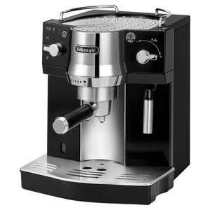 DeLonghi EC820.B Pump Espresso Coffee Machine - Black/Silver £25 instore @ tesco