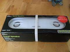 TECHNIKA SP-106 TRAVEL SPEAKERS PLUG AND PLAY £2.99 or 3 for £6 AT TESCO OUTLET!