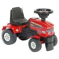 Tesco - Red Ride On Tractor - £2.50 instore