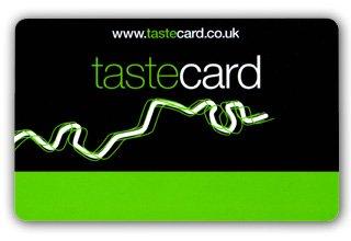 FREE 60 day(2 Months) Tastecard Trial