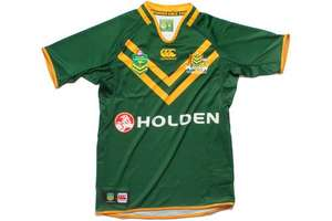 Australia Rugby League shirt reduced by 44% £44.99 @ Lovell Rugby