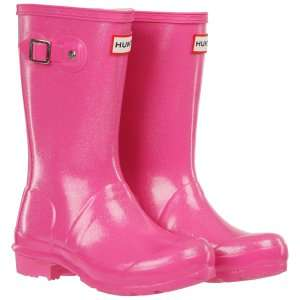 HUNTER KIDS' ORIGINAL GLITTER WELLIES - FUCHSIA £26.00 with free delivery from Allsole.com. Various sizes available