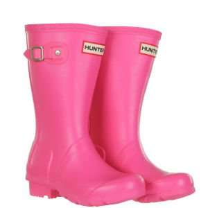 Girls Pink Hunter Wellies - The Hut - £17.99 delivered with code
