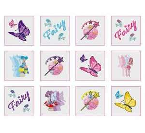 Fairy Tattoos - 24 Supplied - Great Party Bag Fillers - 44p delivered @ Amazon (Dispatched from and sold by SLJ_PARTY_BAGS)