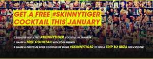 Free Skinny Tiger Cocktail