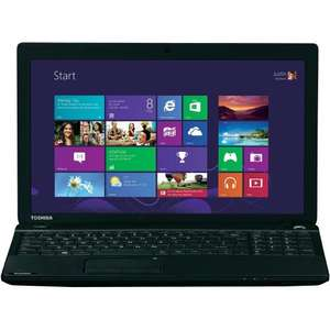 Toshiba C50 15.6'' AMD A-series, 8GB, 1TB, Black Laptop - TESCO - £339.00, £300 if you can use a Tesco employees 10% discount