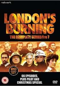Londons Burning series 1-7 20 Disc DVD Set £25 @ Network on air