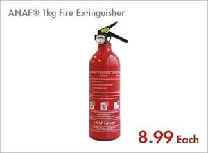 1kg Fire Extinguisher £8.99 @ Lidl