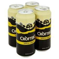 crofters apple cider 4x440 £2.19 @ tesco online and instore