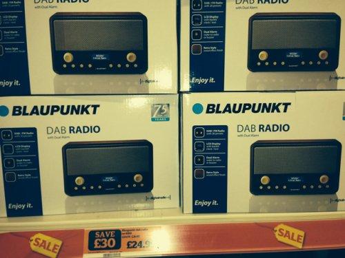 Blaupunkt dab radio £24.99 @ Sainsburys instore