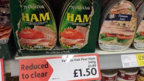Ye Olde Oak Premium Ham £1.50 Morrisons