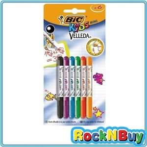 Bic Kids 6 Mini Whiteboard Drywipe Dry Erase Washable Markers - £4.99 delivered @ eBay [Rock n Buy]