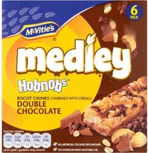 McVitie's Medley Hobnobs (6 x 30g) was £1.89 now £1.00 @ Waitrose