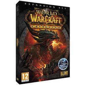 World of Warcraft: Cataclysm Expansion Pack (PC/Mac DVD) | 49p Delivered | Sold by Clearance Game Deals and Fulfilled by Amazon
