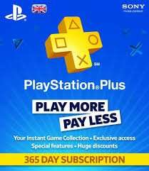 Playstation Plus - 365 Days for £14.99 @ HMV Instore