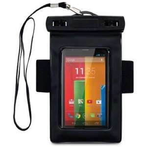 MOTOROLA MOTO G ALL-WEATHER WATERPROOF SOFT CARRY CASE WITH ARMBAND BY CELLAPOD  £4.95 @Amazon
