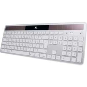 Logitech K750 Wireless Solar Powered Keyboard - Silver - £39.99 @ Argos