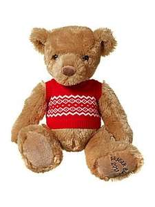 12 Inch Fraser Bear With Tank Top £4.50 (was £15) @ House of Fraser (more bears for £3)