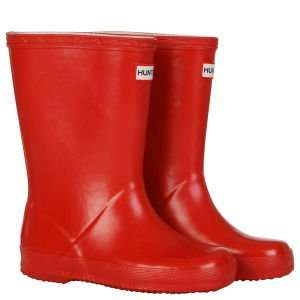 HUNTER KIDS' FIRST WELLIES - RED £11 THE HUT