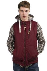 Tokyo Laundry Quilted Hooded Gilet only £8.95 delivered @ everythingfivepounds
