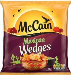 McCain Mexican Wedges (750g) ONLY £1.00 @ Asda & Iceland
