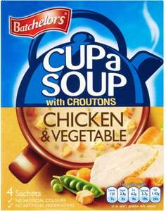 Batchelors Slim a Soup (4 per pack) ONLY 50p @ Asda
