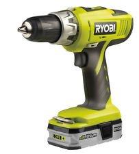 Ryobi 18v, 50+ torque, Li-on battery, 13mm keyless chuck, cordless hammer drill - £49.98 @ B&Q