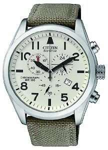 Citizen Eco-Drive Military Style Chronograph Watch £83.74 delivered @ Amazon (was £229) Register for fashion emails and £66.99 (additional 20% off)