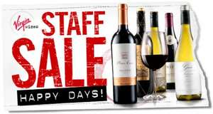 WINE SALE - Staff Sale @ Virgin Wines