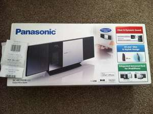 Panasonic SC-HC35DB Compact Stereo System (CD, iPhone/iPod Dock, DAB Radio) £20 @ Tesco (INSTORE)