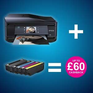 Double Cashback on select Epson Printers