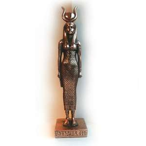 Egyptian female bronze effect statuette £12.50 @ Compton and Woodhouse