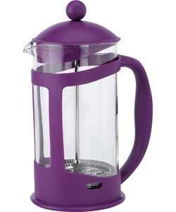 8 Cup Cafetiere - Purple-Homebase was £7.99 now ONLY £3.93!!  Reserve and Collect.