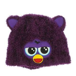 Furby Super-Soft Purple Beanie Hat (BOGOF) £3 @ Claire's Accessories
