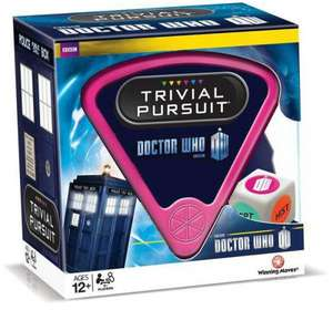 Doctor Who 50th Anniversary Trivial Pursuit £7.99 delivered @ BBC Shop