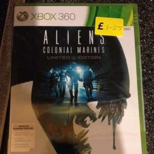 Xbox Aliens Colonial Marines £1.25 @ Tesco Lincoln