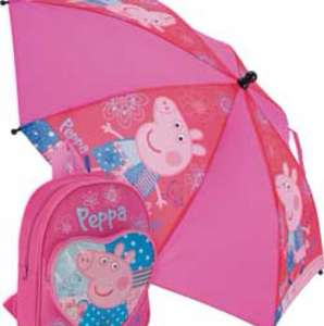 Peppa Pig Backpack and Umbrella for £3.99 at Argos