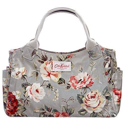 Cath Kidston Garden Rose Grey Handbag back in stock @ JL £25